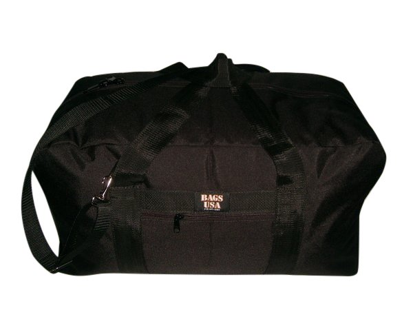 "25"" Cargo travel bag, front pocket Made in U.S.A"