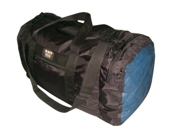 Carry on wet and dry with 1 end compartment mesh,Wet and Dry bag MADE IN USA