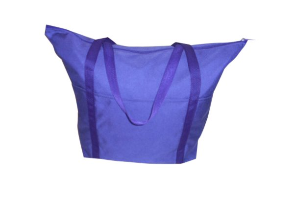 Tote bag large size,has three outside separated pockets for water bottle,cellphone, Keys Made in USA.