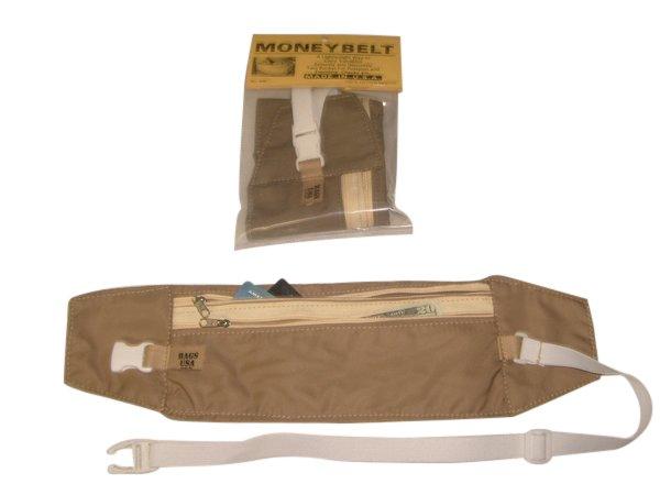 Money belt,travel pouch,passport holder,under cover waist travel bag made in U.S.