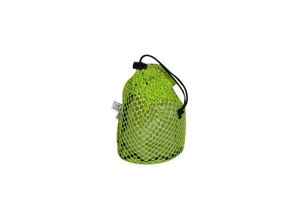 Drawstring mesh stuff sack, stuff bag great for camping gadgets Made in USA.