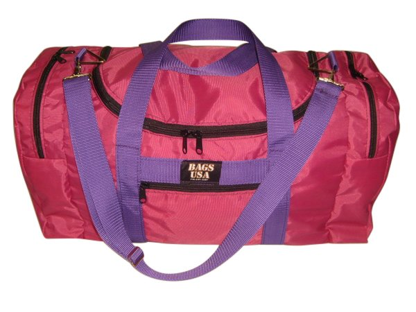 Triple carry on weekend,gym or beach bag with U opening easy excess Made in U.S.A