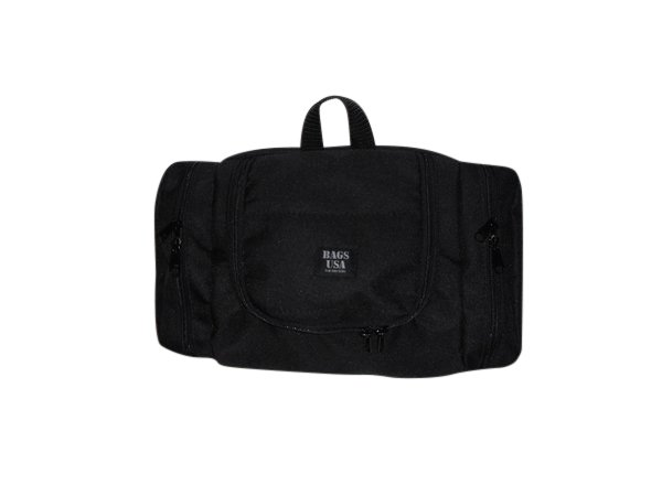 Toiletry bag with S hook to hang for all essential large,Made in USA.