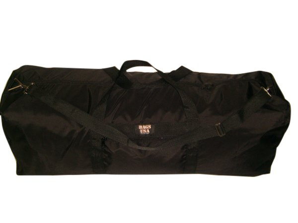 Extra Ex large duffle bag with side pocket, great travel or camping bag