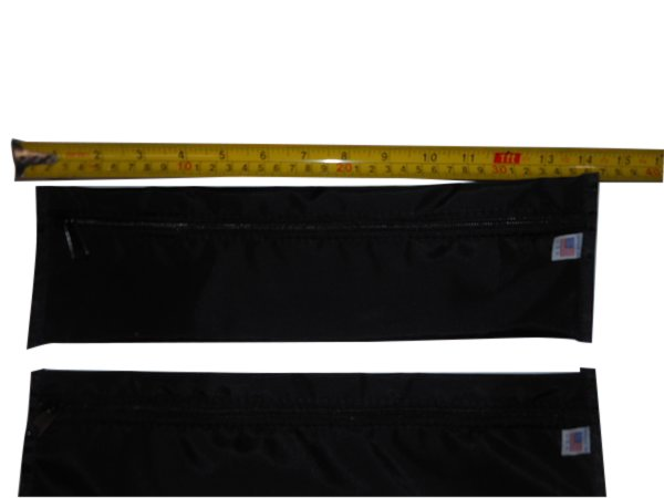 Envelope bags,storage bags with zipper for all your gadgets Two Per Pack Made in USA.