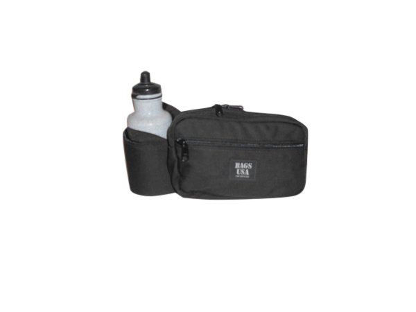 fanny pack deluxe H2O,holds one 22 oz Bottle,front and back pockets made in USA.