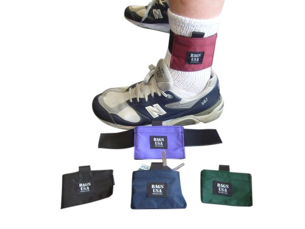 Ankle wallets,athletic ankle wallet for running, walking, traveling.