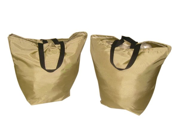 2 Packs Wide bottom reusable tough grocery bag,washable,durable Made in U.S.A.