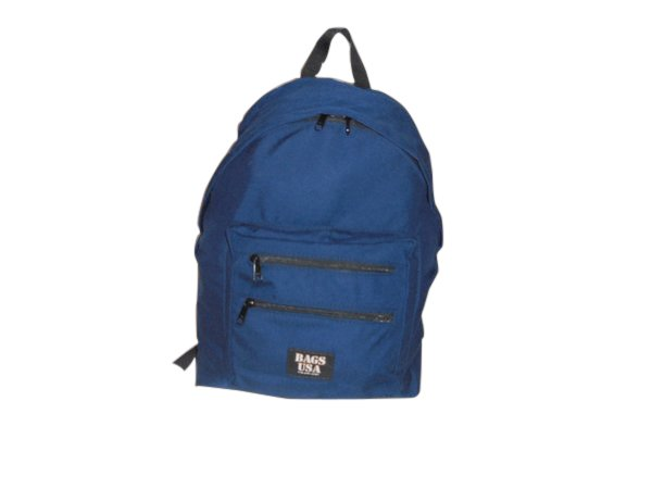 Tear drop backpack with two front pockets,holds lots of books.