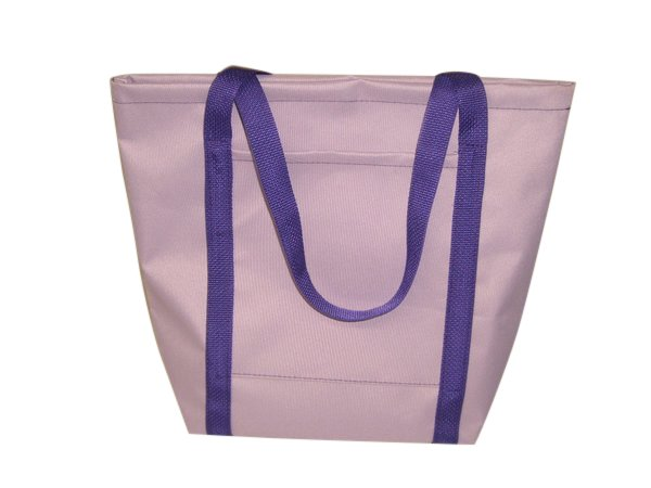 Ladies Tote,Lilac Purple Knitting Bag,Shopping bag Made in U.S.A