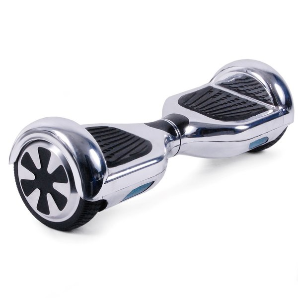ehover silver chrome hoverboard segway balance board. Black Bedroom Furniture Sets. Home Design Ideas