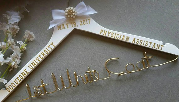 Personalized Hanger, White Coat Ceremony, First White Coat, PA ...
