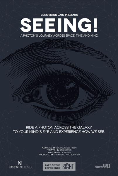 SEEING! 4K Planetarium Master on Hard Drive - Australia/New Zealand
