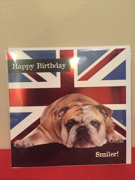 Happy Birthday British Bull Dog