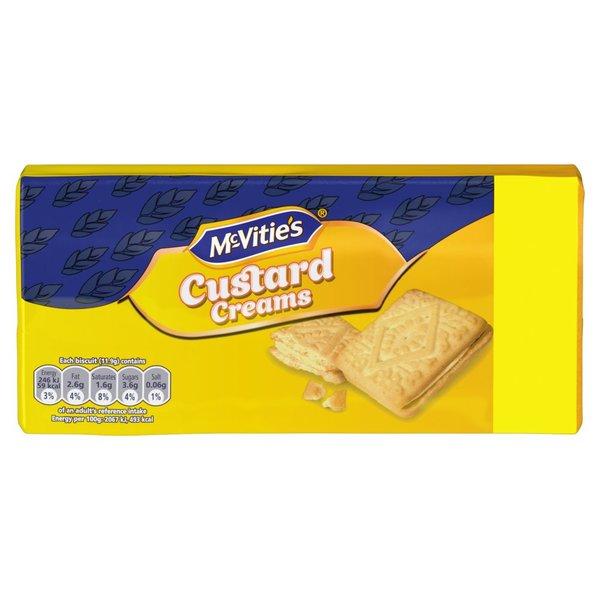 McVities Custard Cream (330g)