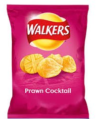 Walkers Prawn Cocktail Crisps (25g)