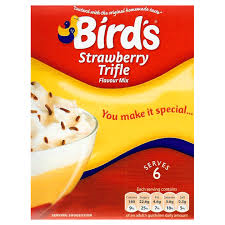 Bird's Strawberry Trifle Mix (141g)