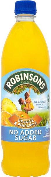 Robinsons Orange and Pineapple NAS Squash (US 1L)