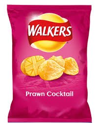 Walkers Prawn Cocktail Crisps (25g)