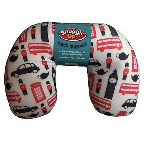 New Snuggle Up U-Shaped Comfy Relaxing Neck Support Pillow Home & Travel