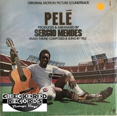 Vintage Pelé (Original Motion Picture Soundtrack) Sérgio Mendes First Year Pressing 1977 US Atlantic SD 18231 Vinyl LP Record Album