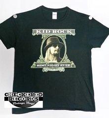 Original 2013 Kid Rock Best Night Ever Concert Tour T-shirt Gildan Softstyle 100% Cotton T-Shirt Large