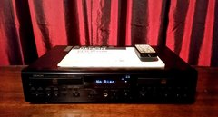 Vintage Denon CDR-W1500 Compact Disc Recorder With Remote and Manual Tested