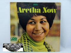 Vintage Aretha Franklin Aretha Now Atlantic SD 8186 1968 VG+ Vintage Vinyl LP Record Album