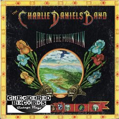 Vintage The Charlie Daniels Band Fire On The Mountain First Year Pressing 1974 US Kama Sutra KSBS 2603 Vintage Vinyl LP Record Album