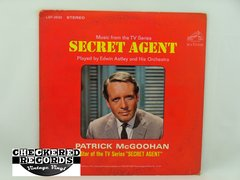 Vintage Edwin Astley and His Orchestra Music From The TV Series Secret Agent Played By Edwin Astley and His Orchestra First Year Pressing RCA Victor LSP-3630 1966 NM- Vintage Vinyl LP Record Album