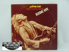 Vintage Alvin Lee Alvin Lee Ten Years Later Ride On First Year Pressing RSO Records RS-1-3049 VG+ Vintage Vinyl LP Record Album