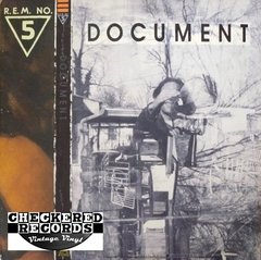 Vintage R.E.M. Document First Year Pressing 1987 US I.R.S. Records IRS-42059 Vinyl LP Record Album