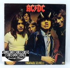 Vintage AC/DC Highway To Hell Atlantic SD-19244 1979 NM- Vintage Vinyl LP Record Album