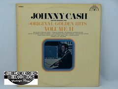 Vintage Johnny Cash And The Tennessee Two Original Golden Hits Volume II Two Sun Records US SUN 101 1969 VG+ Vintage Vinyl LP Record Album