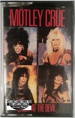 Vintage Mötley Crüe Shout At The Devil Club Edition 1983 US Elektra E4-60289 Cassette Tape
