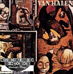 Vintage Van Halen Fair Warning First Year Pressing 1981 US Warner Bros. Records HS 3540 Vintage Vinyl LP Record Album