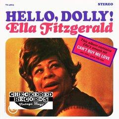 Vintage Ella Fitzgerald Hello, Dolly! First Year Pressing 1964 US Verve Records V6-4064 Vintage Vinyl LP Record Album