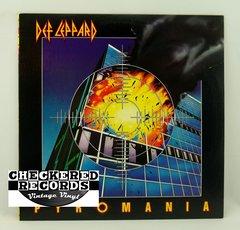 Vintage Def Leppard Pyromania Mercury 422-810-308-1-M-1 1983 NM- Vintage Vinyl LP Record Album