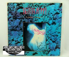 Vintage RARE Skinny Puppy Mind: The Perpetual Intercourse Signed Autographed cEvin Key, Nivek Ogre, Bill Leeb First Year Pressing Capitol ST-12545 1986 G+ Vintage Vinyl LP Record Album