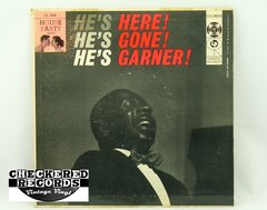 Vintage Erroll Garner He's Here He's Gone He's Garner First Year Pressing Columbia CL 2606 1956 VG+ Vintage Vinyl LP Record Album