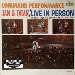 Vintage Jan & Dean ‎Command Performance First Year Pressing 1965 US LRP-3403 Vintage Vinyl LP Record Album