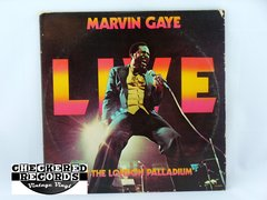 Vintage Marvin Gaye Marvin Gaye Live At The London Palladium First Year Pressing Tamla Motown T7-352R2 1977 NM Vintage Vinyl LP Record Album