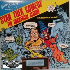 Vintage Vince Emery Star Trek Comedy The Unofficial Album First Year Pressing Hand Signed 719/1000 1987 US Vince Emery Productions VE-02-LE Vintage Vinyl LP Record Album