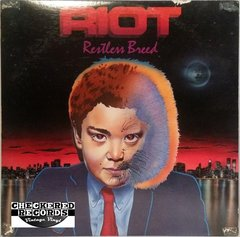 Vintage Riot Restless Breed First Year Pressing 1982 US Elektra E1-60134 Vintage Vinyl LP Record Album
