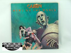 Vintage Queen News Of The World First Year Pressing Elektra 6E-112 VG+ Vintage Vinyl LP Record Album