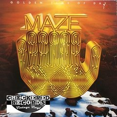 Vintage Maze Featuring Frankie Beverly Golden Time Of Day With Insert First Year Pressing 1978 US Capitol Records ST-11710 Vintage Vinyl LP Record Album