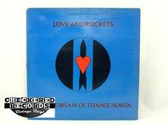 Vintage Love and Rockets Seventh Dream Of Teenage Heaven Beggers Banquet BEGA 66 1985 VG+ Vintage Vinyl LP Record Album