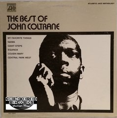 Vintage John Coltrane The Best Of John Coltrane First Year Pressing 1970 US Atlantic SD 1541 Vintage Vinyl LP Record Album
