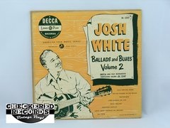 Vintage Josh White Ballads And Blues Volume 2 Decca DL 5247 1950 VG+ Vintage Vinyl LP Record Album