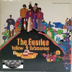 Vintage The Beatles Yellow Submarine RARE All Rights Reserved Copy 1975 US Apple Records SW-153 Vintage Vinyl LP Record Album